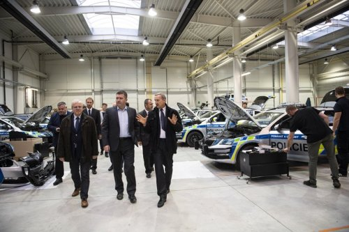 Minister of the Interior of the Czech Republic visited RAMET
